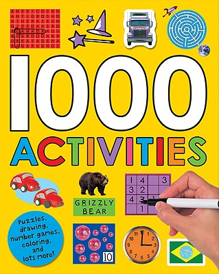 1000 Activities By Priddy Books